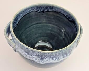 A hand thrown Soup bowl