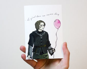 Game of Thrones Birthday Card | Game of Thrones Card