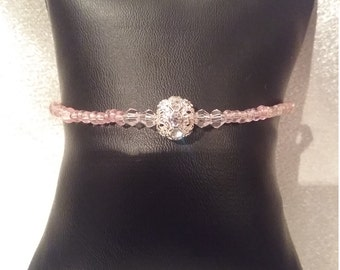 Delicate pink and silver now on sale.  Was 13.50 now 12.50