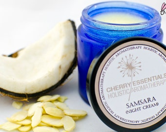 Samsara (Neck & Shoulder Night Cream with Ylang Ylang, Patchouli, Sandalwood)
