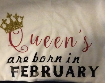 Queen's are born in...Month Shirt