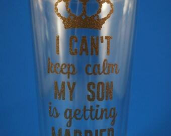 I Can't Keep Calm - Married Plastic Tumber - 16 oz.