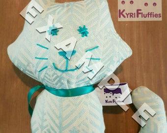 Fluffy toy Medium size, High End brands wrap scrap