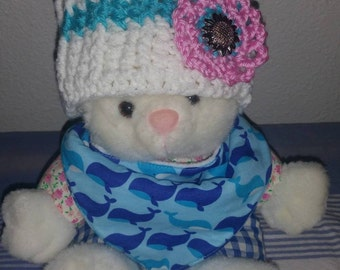Crochet headband for baby
