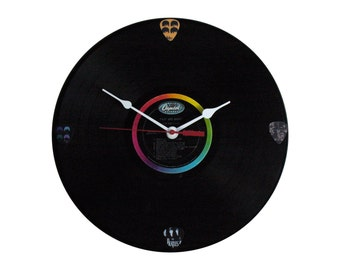 Beatles Twist and Shout lp record clock