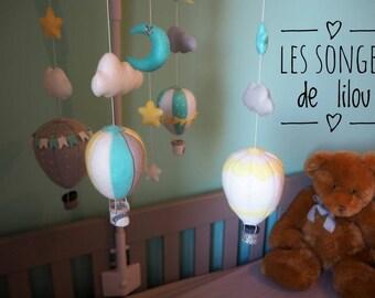 Mobile baby balloons