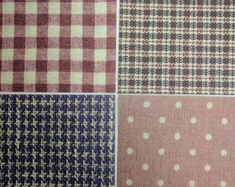Japanese Chiyogami Fabric Paper Pack 6 x 6 in (4-Pack)