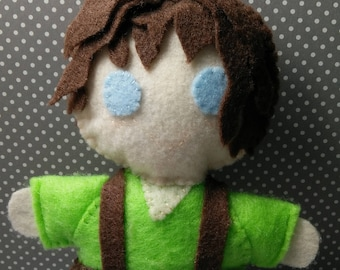 FRODO BAGGINS PLUSHIE The Lord of the Rings The Hobbit Elijah Wood Tolkien Plush