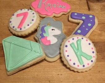Unicorn Magical Cookies Dozen