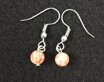 Fire Agate Dangles