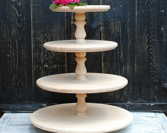 4 tiered cake stand,4 tiered wooden cakestand,4 tiered cupcake stand,4 tiered white cake stand,4 tiered muffin stand,4 tiered cake pedestal