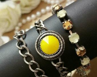 Pocketful of Sunshine wrap bracelet