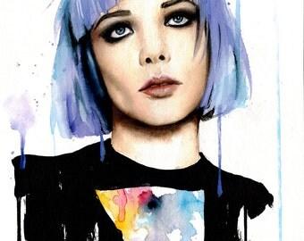 Alice Glass (Watercolor Original)