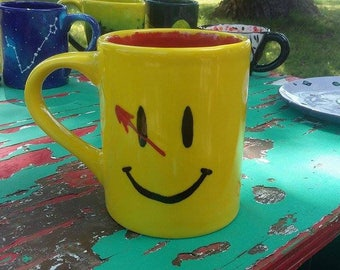 "Watchmen themed mug - ""Smiley"""