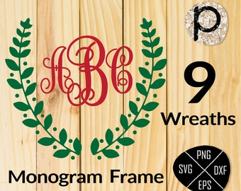 Vintage laurel wreath SVG*Laurel Wreaths SVG clipart*Wedding Wreath Clipart*Wedding Clipart*svg,dxf,png*Cutting File*Cricut*Silhouette*SCAL
