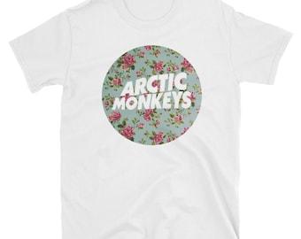 Arctic Monkeys - Floral T-Shirt