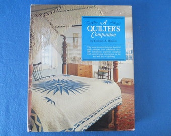 1974 A Quilter's Companion Book by Dolores A. Hinson, 200+ Patterns
