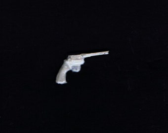 1:25 G scale model resin police revolver handgun