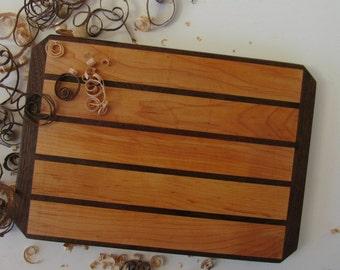 Bread Board, Maple Cutting Board Handmade, Serving Board, Cheese Board, Handcrafted Wood Cutting Boards, Kitchen Board, Wedding Gift, OOAK