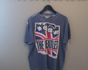 Beatles distressed Tee