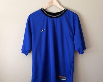 Vintage Nike Team Soccer Jersey (T Shirt)