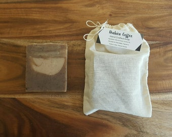 Coffee Soap - Handmade Soap - Cold Process Soap - Vegan Friendly Soap