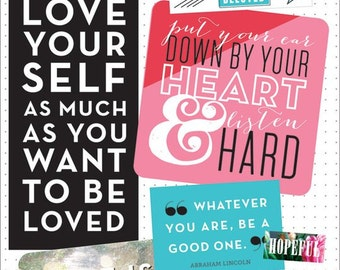 Inspirational Quotes Sticker Pack - MAMBI