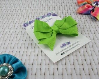 Pinwheel Hair Bow Clip