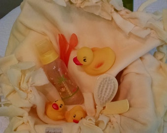 Rubber Ducky- Baby Bundle Gift Set