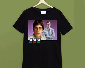 Louis Theroux Classic Black T Shirt