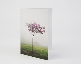 Purple Tree - Greeting Card