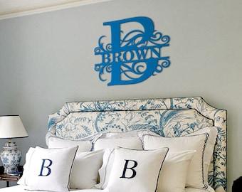 Last Name Wall Decor home decor wall art | etsy