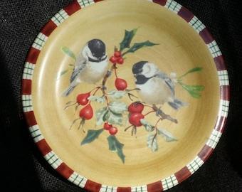 Lenox Winter Greetings Chickadee
