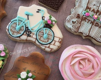 Vintage Birthday Cookies