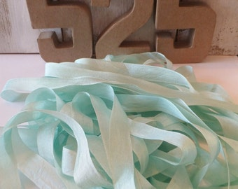 20 Yd. Mint Ribbon ~ Spring / Easter Craft Projects ~ Gift Wrap ~ Embellishments ~ Wedding