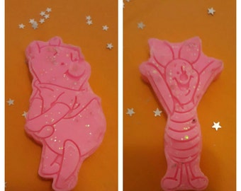 Winnie The Pooh & Piglet Set of Scented Soy Wax Melts (approximately 70g) Made To Order