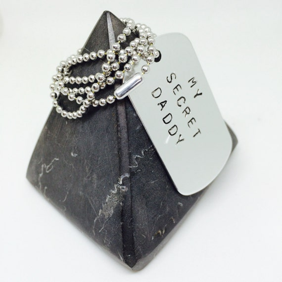 customised gifts, add your words, Valentines gift, handstamped, Chunky dog tag, mans necklace, mans gift, gift for him, boyfriend gift