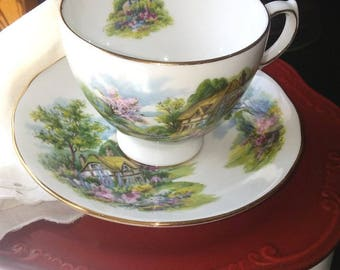Royal Vale English Bone China Tea Cup, c. 1970