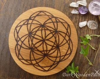 Crystal grid ~ seed of life ~