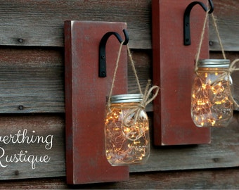 Candle Holders, Candle Lanterns, Decorative Lanterns, Candle Sconces, Hanging Lights  SET OF 2