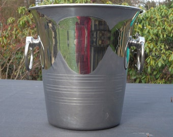 "French stainless steel ""GUY DEGRENNE"" champagne/ ice bucket(42114)"