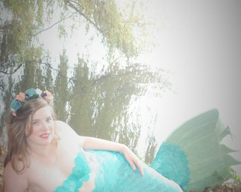 Mermaid scale top, short strapless, mermaid, mermaid, mermaid strapless top, bra top, rave bra, silicone