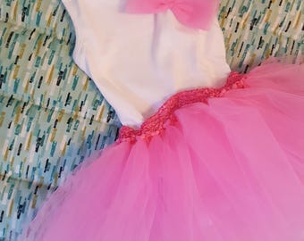 Onsie with attached tutu