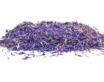 Blue Cornflower Petals - Dried - High Quality - Natural and Biodegradable