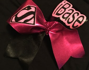 IBase Superman Cheer Bow