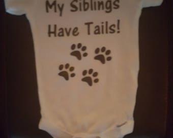 My Siblings Have Tails Onsie