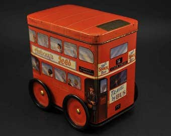1992 Stanleys Toffee travel Bus container