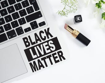 Laptop Decal Black Lives Matter Decal Macbook Decal Laptop Decal Vinyl Decal Laptop Decal Laptop Sticker Removable Macbook Decal 82
