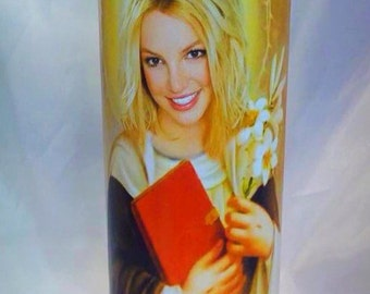 Saint Britney Spears Prayer Candle