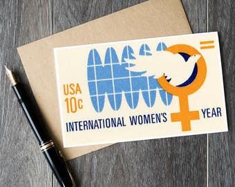international womens day card, international womens day, birthday cards, feminist cards, feminist gifts, birthday gifts, feminist birthday